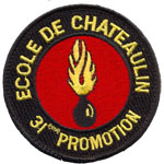 Ecusson  - 31 promotion gendarme