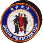 Ecusson  - saceur protection team