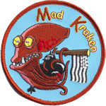 Écusson Mad Kraken