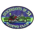 Ecusson  - descendant oh 51 ridding club