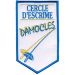 Écusson escrime damocles