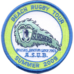 Écusson Beach Rugby Tour