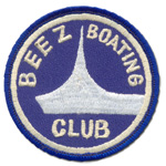 Écusson Beez boating