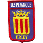 Écusson US Petanque Briey