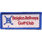 Écusson Belgian Railways Golf Club
