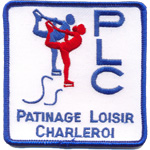 Écusson Patinage Loisir Charleroi