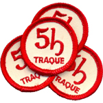 Ecusson  - 5h traque