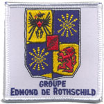 Écusson Groupe Edmond de Rotshild