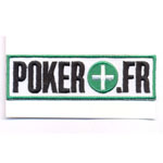 Écusson Poker + .fr