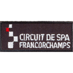 Écusson Circuit Spa-Francorchamps