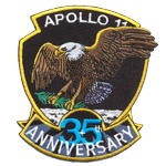 Écusson Apollo 35 anniversary