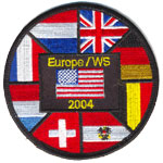 Écusson Europe WS 2004